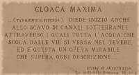 kanalizace Cloaca Maxima